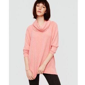 Lou and Grey Signature Soft Cowl Neck Sweater